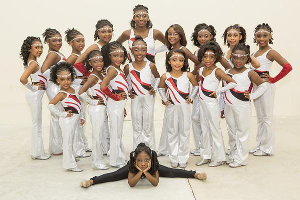 Silver Silhouette Dance Team