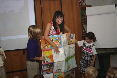 Grace Lin visits DLS 2008