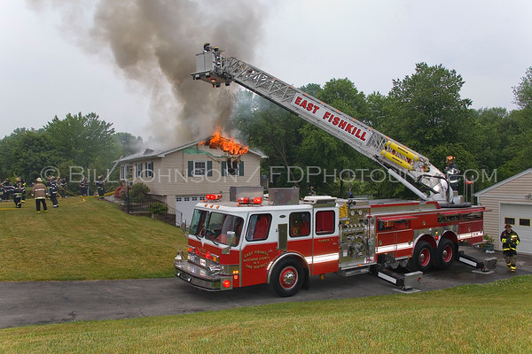 Structure Fire - 22  Zerner Blvd. - East Fishkill Fire District