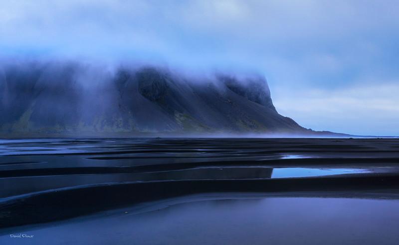 Tidal Flats Of Vestrahorn
