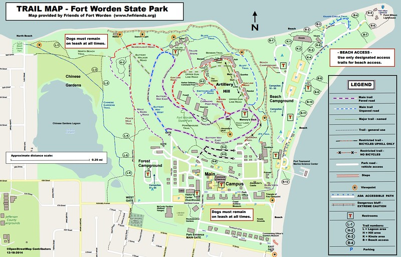 Fort Worden Historical State Park (Trail Map)
