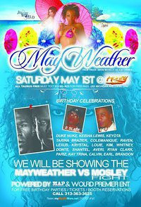 Mayweather vs. Mosley fight live & After Party