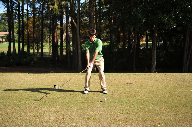Miles'  Golf Swing Sequence
