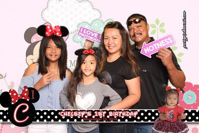 Chelsey's 1st Birthday (Green Screen Party Portraits)