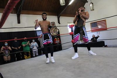 NCW Tag Team Championship Waves & Curls vs. Little Giants