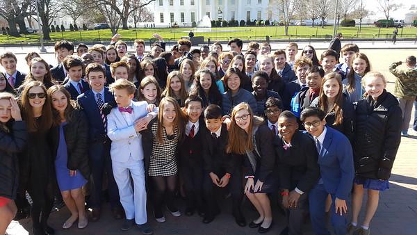 8th Grade DC Trip (03/22/2017)