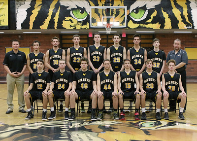 2015 - 2016 Gilbert Boys Basketball Team and Individual Pictures