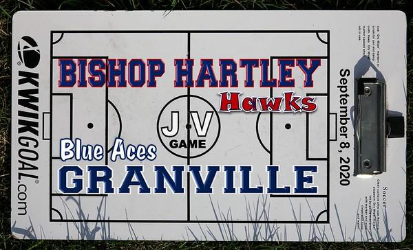 2020 Junior Varsity - Bishop Hartley at Granville (09-08-20)