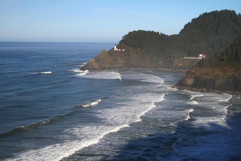 Christmas Eve 2013, Drive down the coast through Cape Perpetua to Florence Oregon