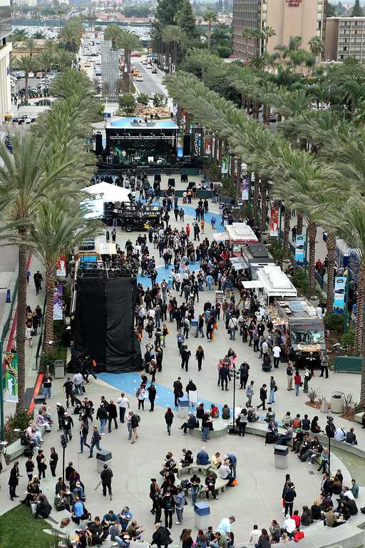 . ANAHEIM, CA - JANUARY 24:  A general view of atmosphere at the 2014 National Association of Music Merchants show at the Anaheim Convention Center on January 24, 2014 in Anaheim, California.  (Photo by Jesse Grant/Getty Images for NAMM)