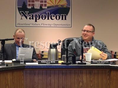 01-05-15 NEWS, Napoleon council