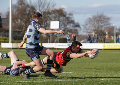 Stewart's Melville 1XV v Falkirk RFC, Tennent's National league Div 2, 30th March 2019