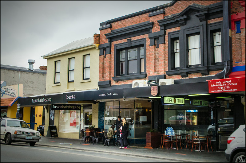 Berta - easy to find, right in the middle of North Hobart