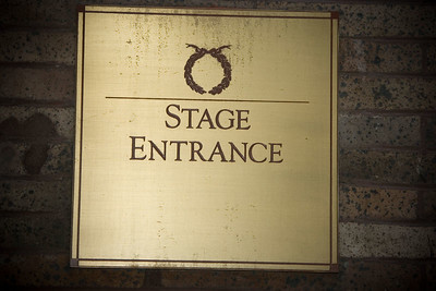 That Sacred Stage Door.....the Big Rehearsal