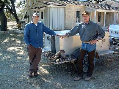 BRAD AND DUSTIN WILSON DEC 2005