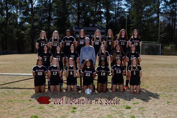 2021 Girls Varsity Soccer