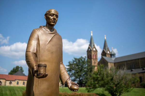 St. Meinrad Statue 2021