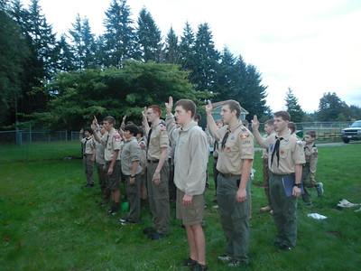 Troop Meeting - Sep 23