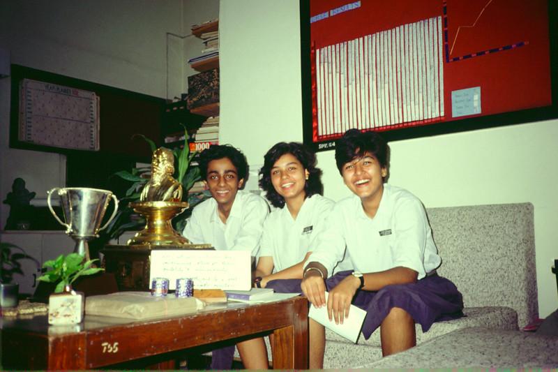 Rajiv, Ila Kapoor, Leena Sahijwani