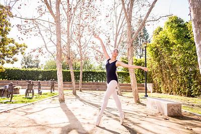 Ballerina Photo Shoot:  February 11, 2018