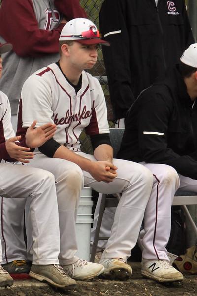 Chelmsford baseball pitcher Ryan Shea 050119