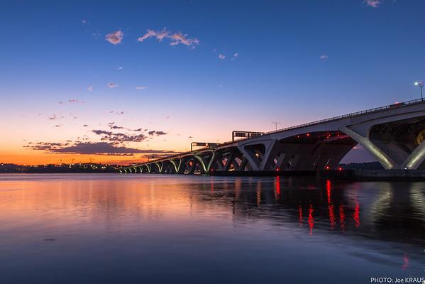 Wilson Bridge & Alexandria Waterfront