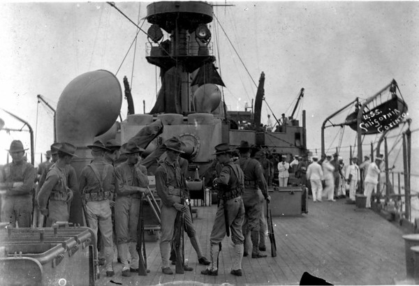 U. S. Navy Landing at Corinto, Nicaragua (1912)