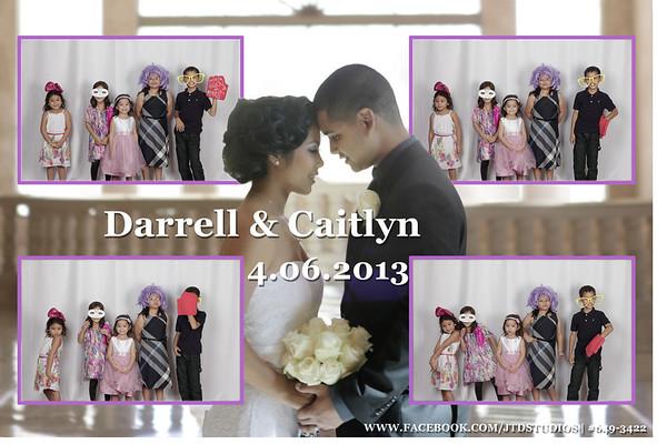 Darrelle & Caitlyn Studiobooth
