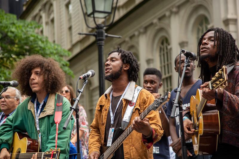 2018, Blac Rabbit, City Hall, Come Together NYC, New York City, September 13
