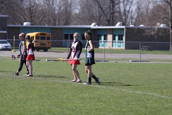 2009 Girls Lacrosse Varsity and JV Vestal at Owego