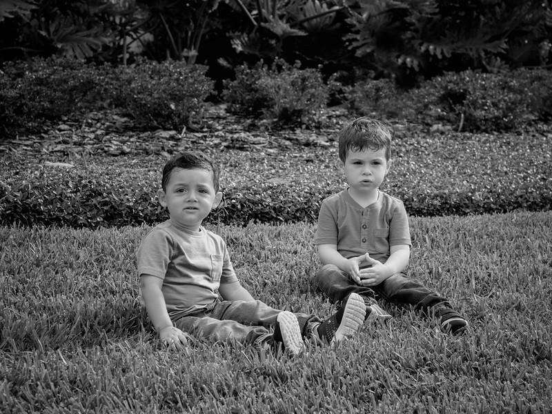 Regev Herzog kiddos B&W cropped.jpg