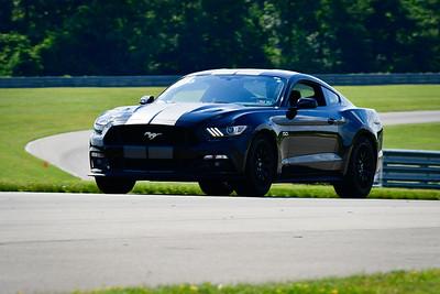 2021 SCCA TNiA June 24 Pitt Nov Blk Mustang Slv Stripes