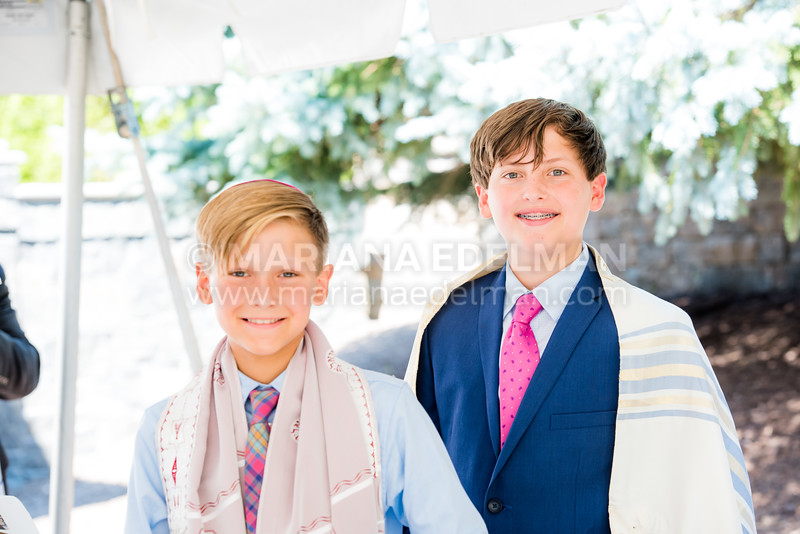 Noah and Mason Olenick Bnai Mitzvah