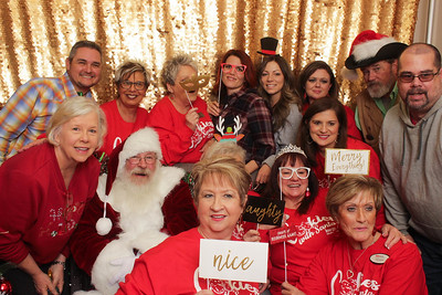 Keller Williams Cookies with Santa