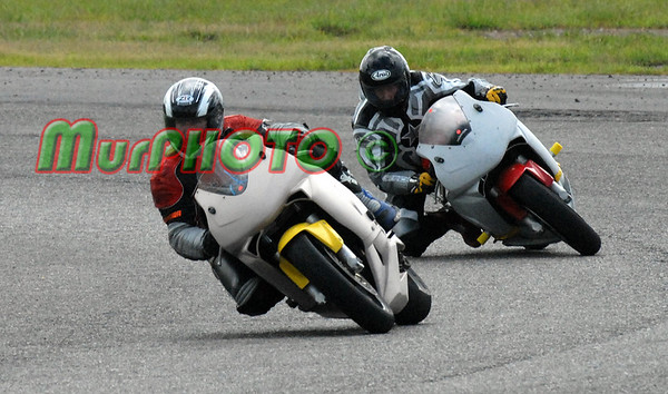 Motorcycles at Belle Rose Track August 2006