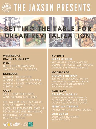 WJCT - Setting the Table for Urban Revitalization