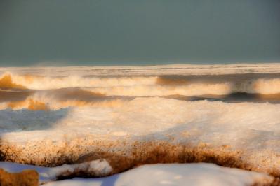 Lake Michigan and Windpoint Lighthouse