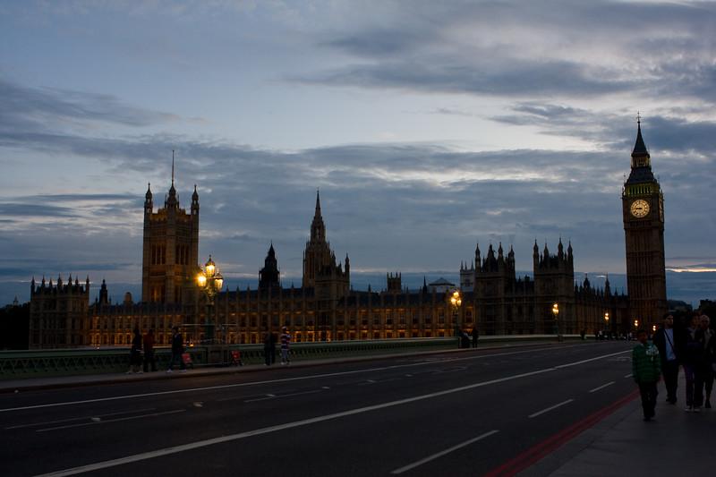 Sunset over Parliament