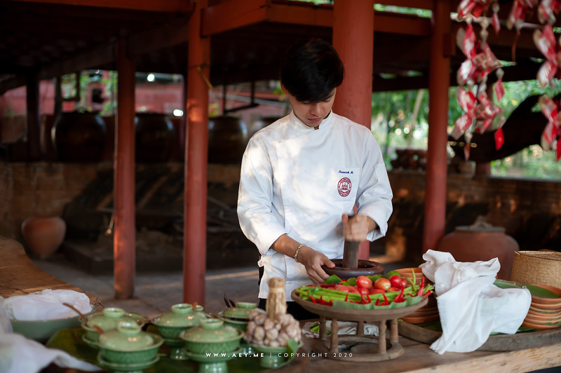 Chef's Table at Baan Thai Ayutthaya Khlong Sra Bua