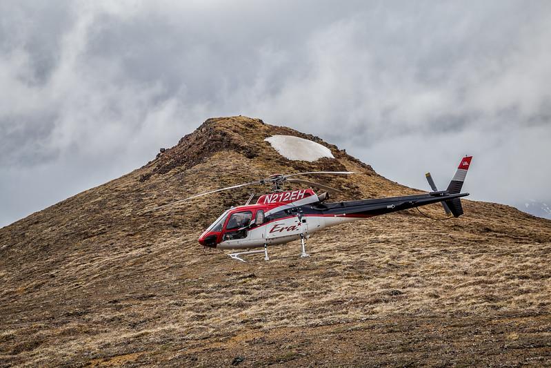 heli hiking Denali State Park