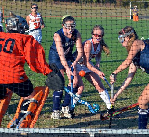 Nazareth Academy vs Gwynedd Mercy Academy Girls Field Hockey 10-2-2013