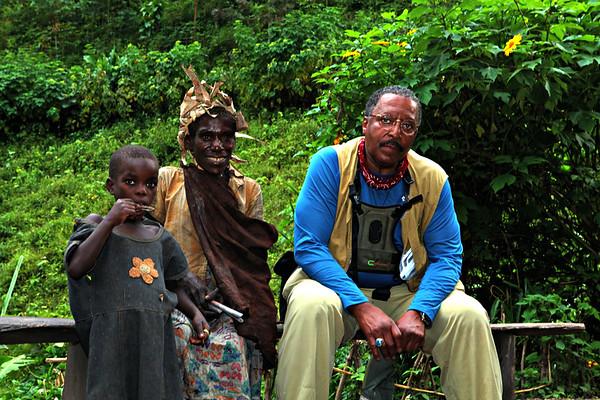 Batwa Pygmies Bwindi Forest, Uganda