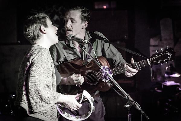 Trevor Moss & Hannah-Lou at Brixton