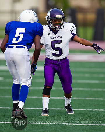 Minneapolis North v Southwest Football - 8-30-12