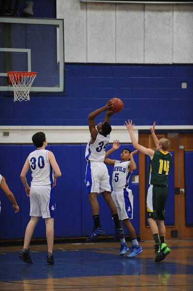 LHS basketball vs EL and Oxford Hills