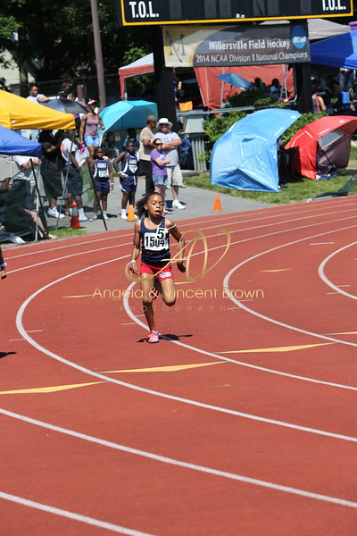 2017 AAU DistQual: 8 and Under Girls 200m