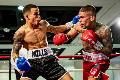Kane Bake vs Myron Mills - English Lightweight Title