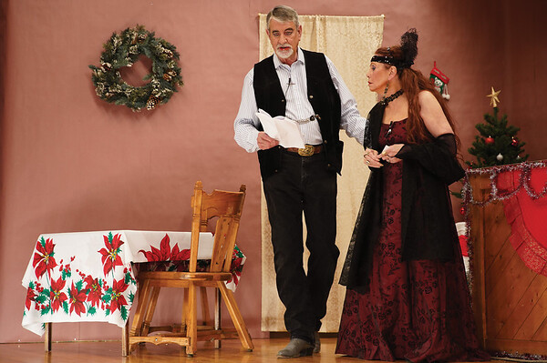 """Misdeeds at Mistletoe Mine or.....The Sanity Clause"" Dress Rehearsal"