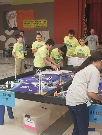 NBISD FLL teams at JSTEM Academy contest 01/26