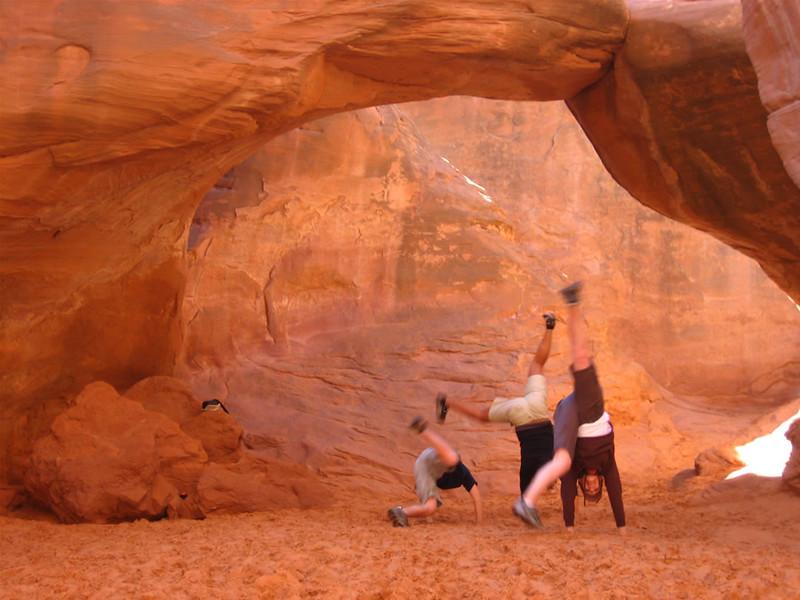 Stacee Calderon - Sand Dune Arch, Arches Nat'l Park, Utah - 10/2007